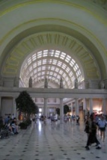 INTERIOR DEL GRAND STATION EN WASHINGTON DC