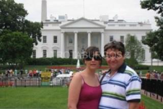 BERTA Y SANTI EN LA ZONA DEL MALL EN WASHINGTON DC