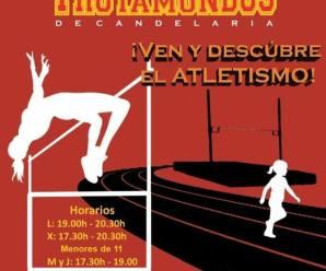 ¡¡APÚNTATE A LA ESCUELA DE ATLETISMO-CLUB TROTAMUNDOS!!