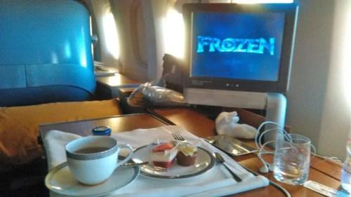 thai airways in flight entertainment first class