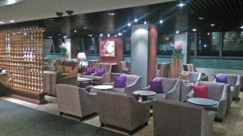 royal orchid lounge first class thai airways