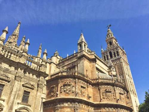 seville cathedral andalucia spain