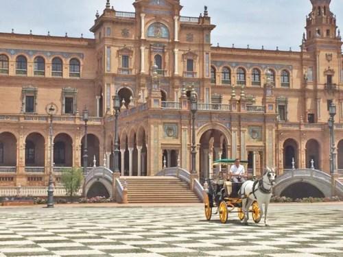 plaza de espana seville spain