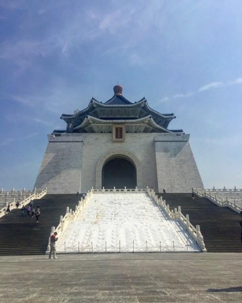 Chiang kai shek temple taipei taiwan