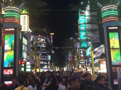 ximending shopping district