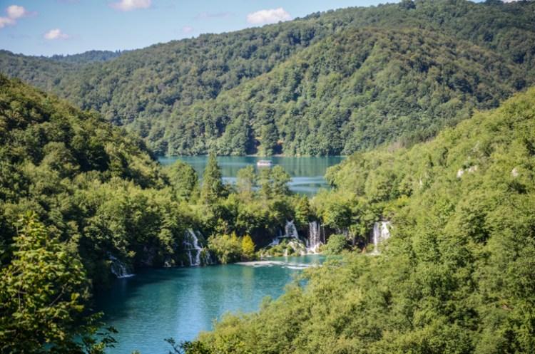 Croatie lacs de Plitvice