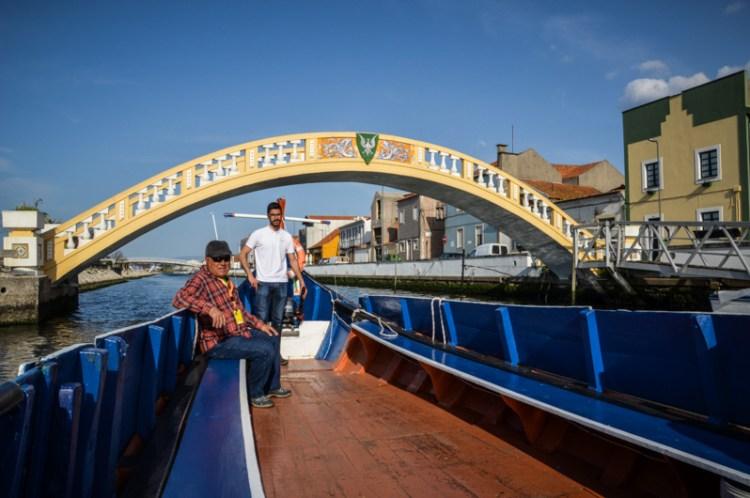 Aveiro Portugal moliceiros barque
