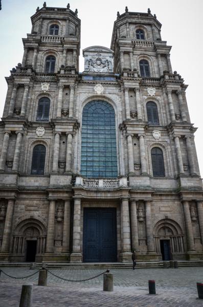 Rennes cathédrale Saint Pierre bretagne
