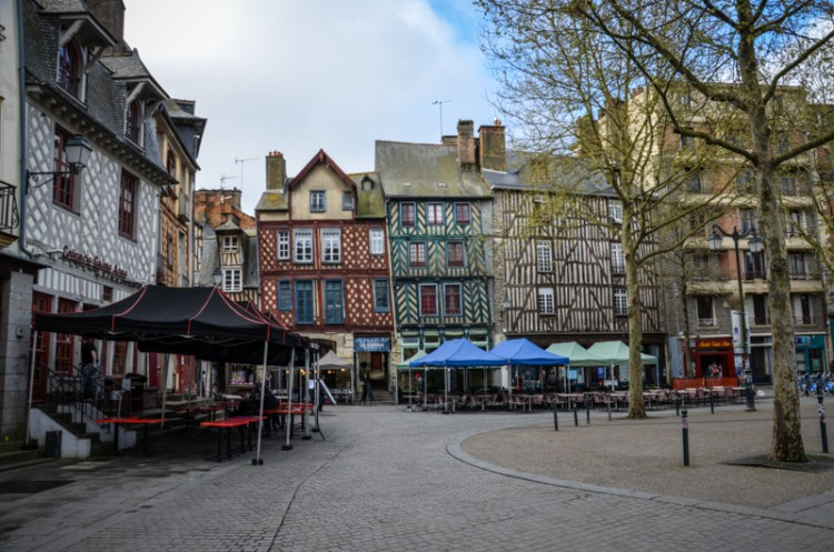Rennes place st anne