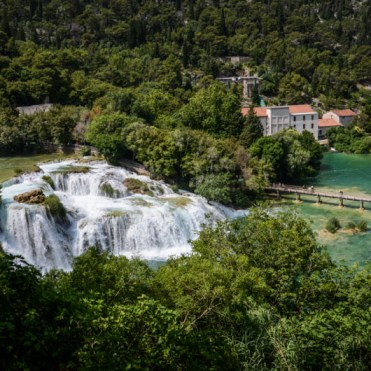 parc national de Krka Croatie