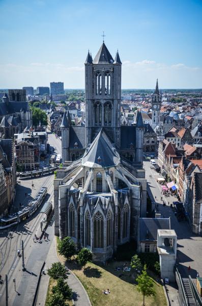Gand belgique blog voyage trotteurs addict vue du beffroi