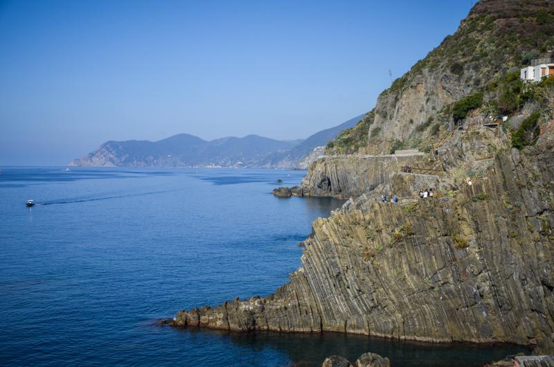 Riomaggiore Italie Cinque Terre falaises