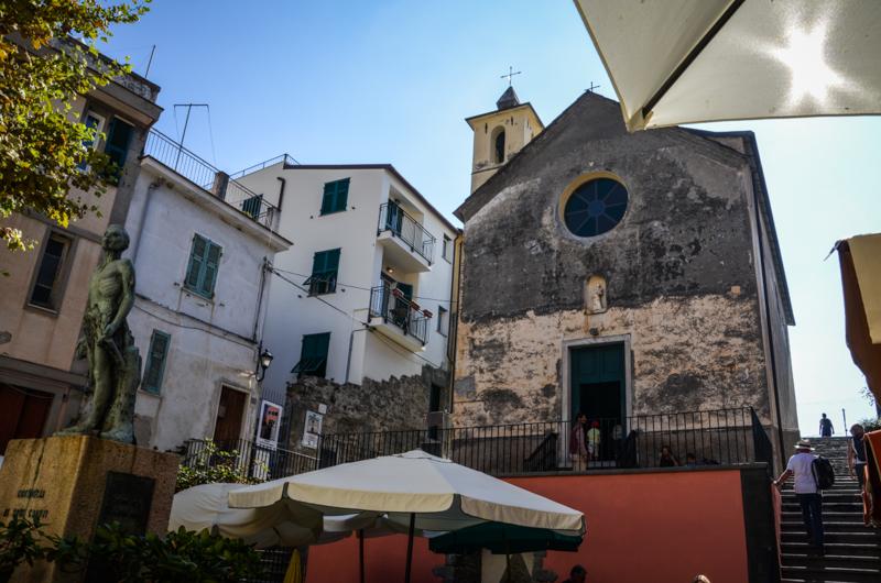 église corniglia cinque terre italie