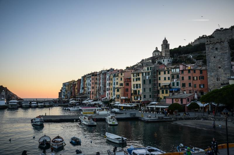 port portovenere coucher de soleil italie blog voyage