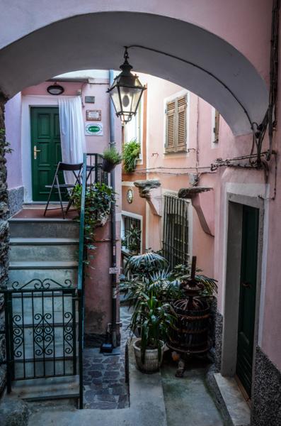 ruelles vernazza italie cinque terre