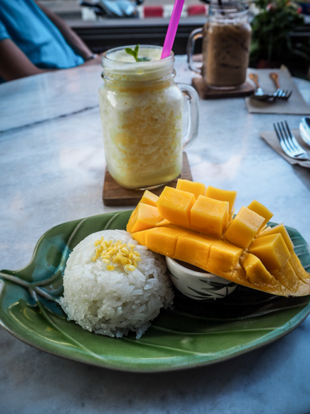 chiang mai thailande mango sticky rice