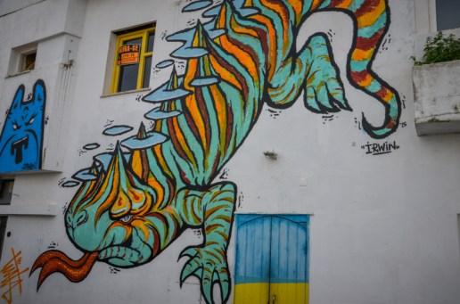 lagos street art algarve