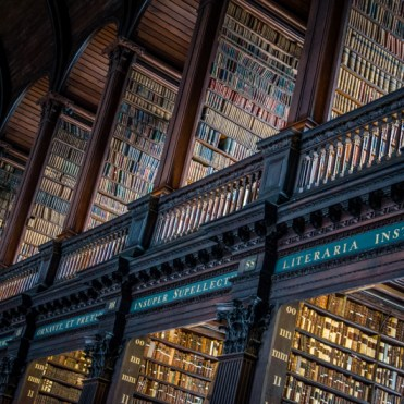dublin trinity college bibliotheque