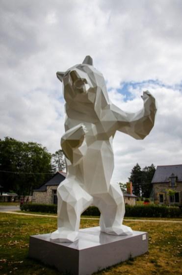 sculptures château des pères bretagne