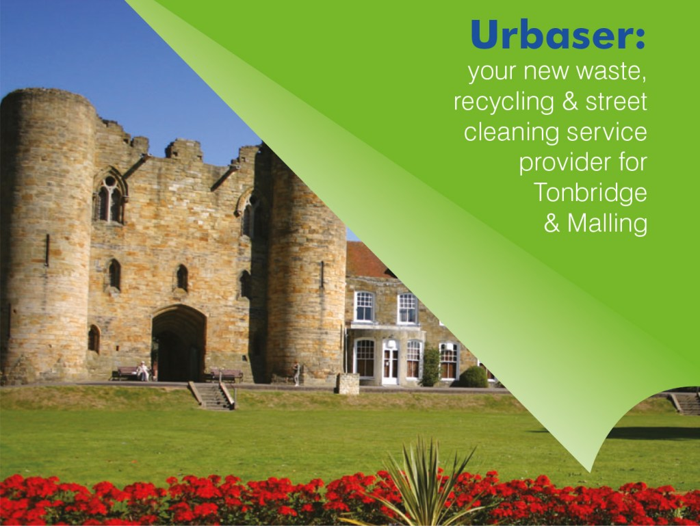 Urbaser: your new waste, recycling & street cleaning service provider for Tonbridge & Malling