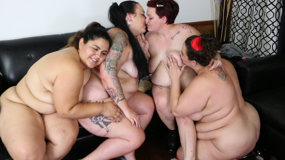 Onsie Orgy: Calista Roxxx, Jessica Lust, Karla Lane, and Trouble