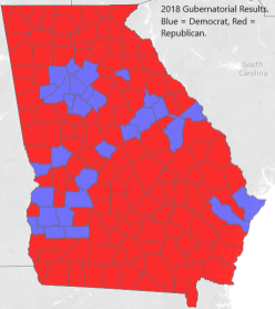 2018 Unshaded Map