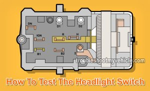 Part 1 How to Test the Ford Headlight Switch