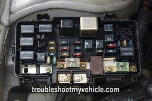 UnderHood FuseRelay Box (20012004 17L Honda Civic)