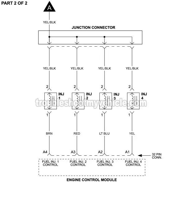 19961998 fuel injector circuit diagram 16l honda civic