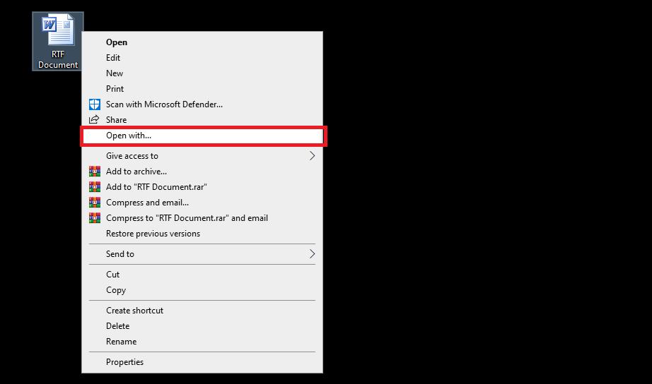 open-RTF-files-on-windows10