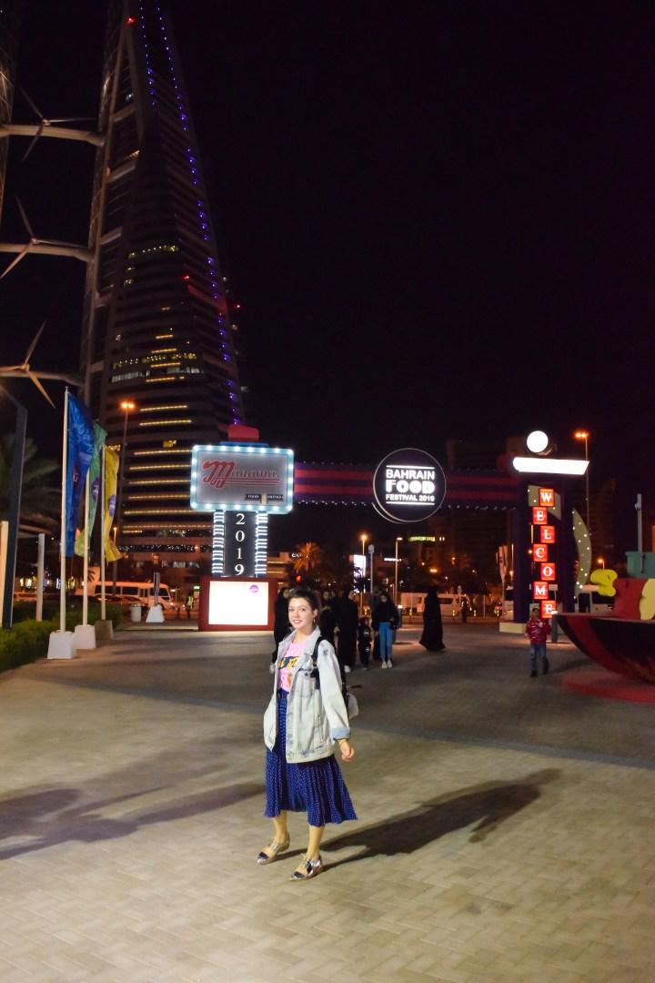 Bahrain food festival and comic con.