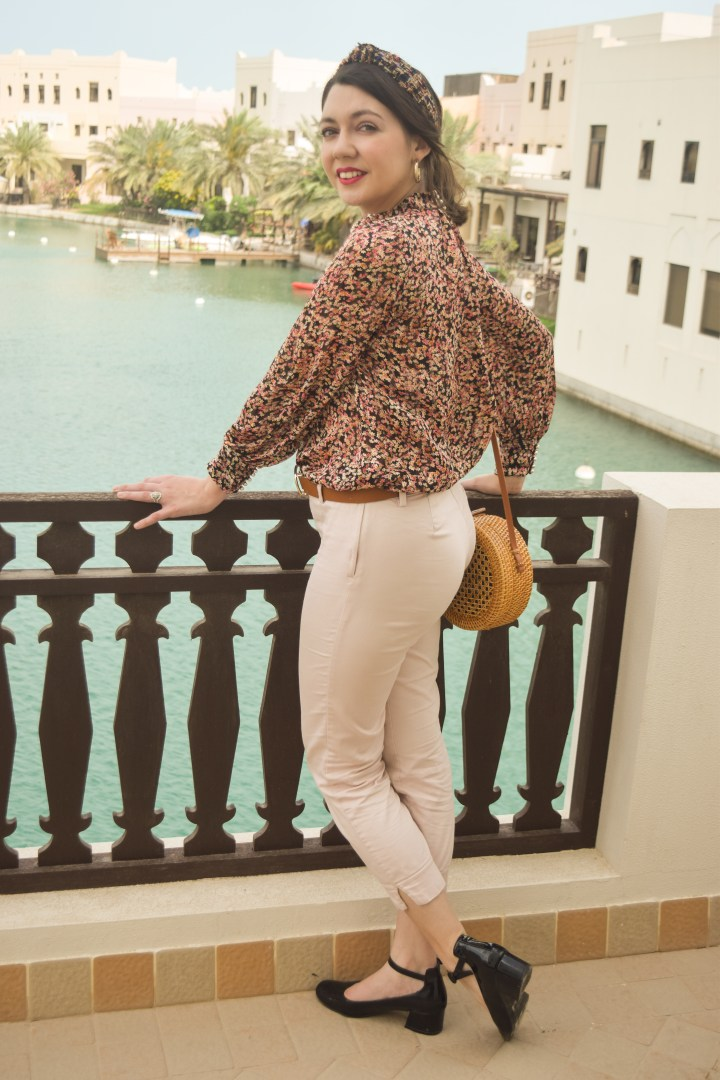 The perfect flower printed blouse for Spring