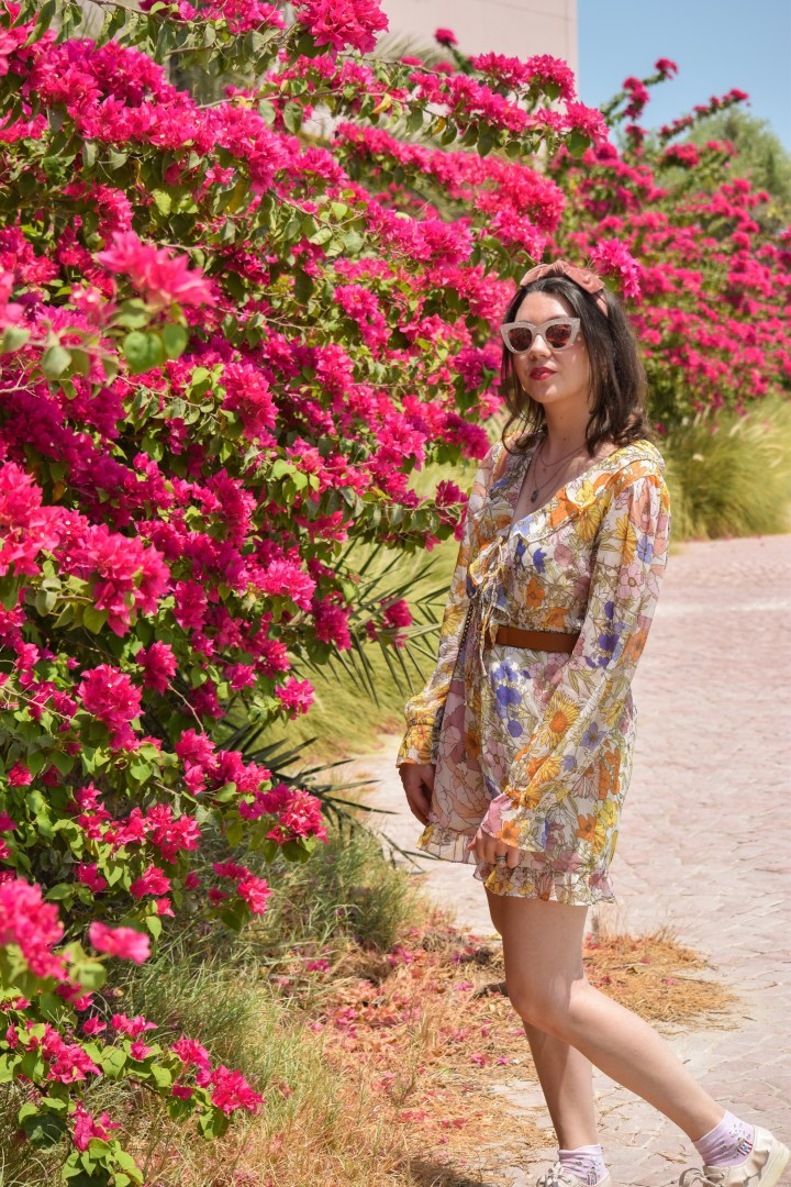 A flowers playsuit