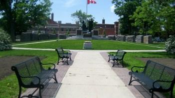 Citizen's War Memorial in Confederation Park