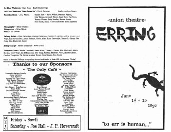 Original Erring program