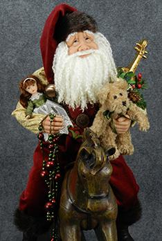 Rocking Horse Santas