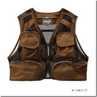 シマノ:メッシュ素材を使用したフィッシングベスト『シマノ・オールメッシュベスト VE-036L』が発売されます