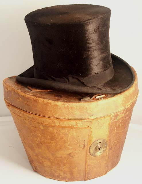 hat top hat with case