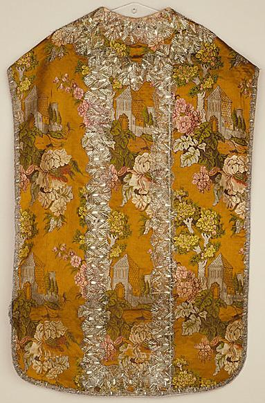 Italy, Bologna Ecclesiastical Costume (Chasuble