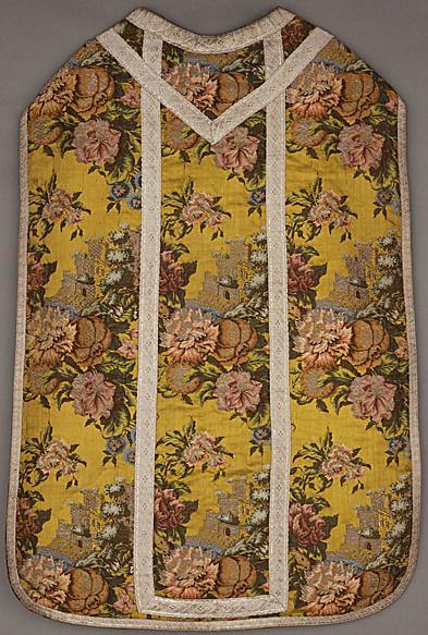 chausable france Lyon, France 1735-1740 LACMA