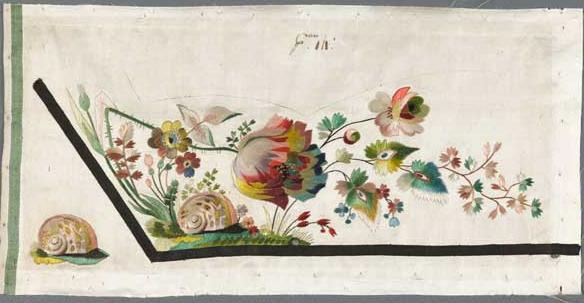 samples french 18th c satin cooper-hewitt