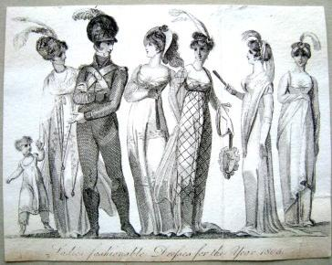 Black and white engraving c. 1805