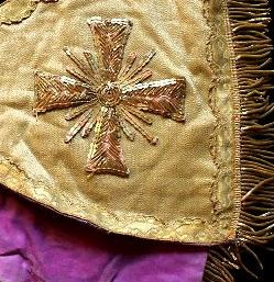 Ecclesiastical embroidery 19th c France ebay
