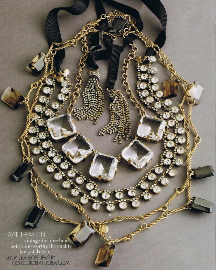 J Crew necklaces