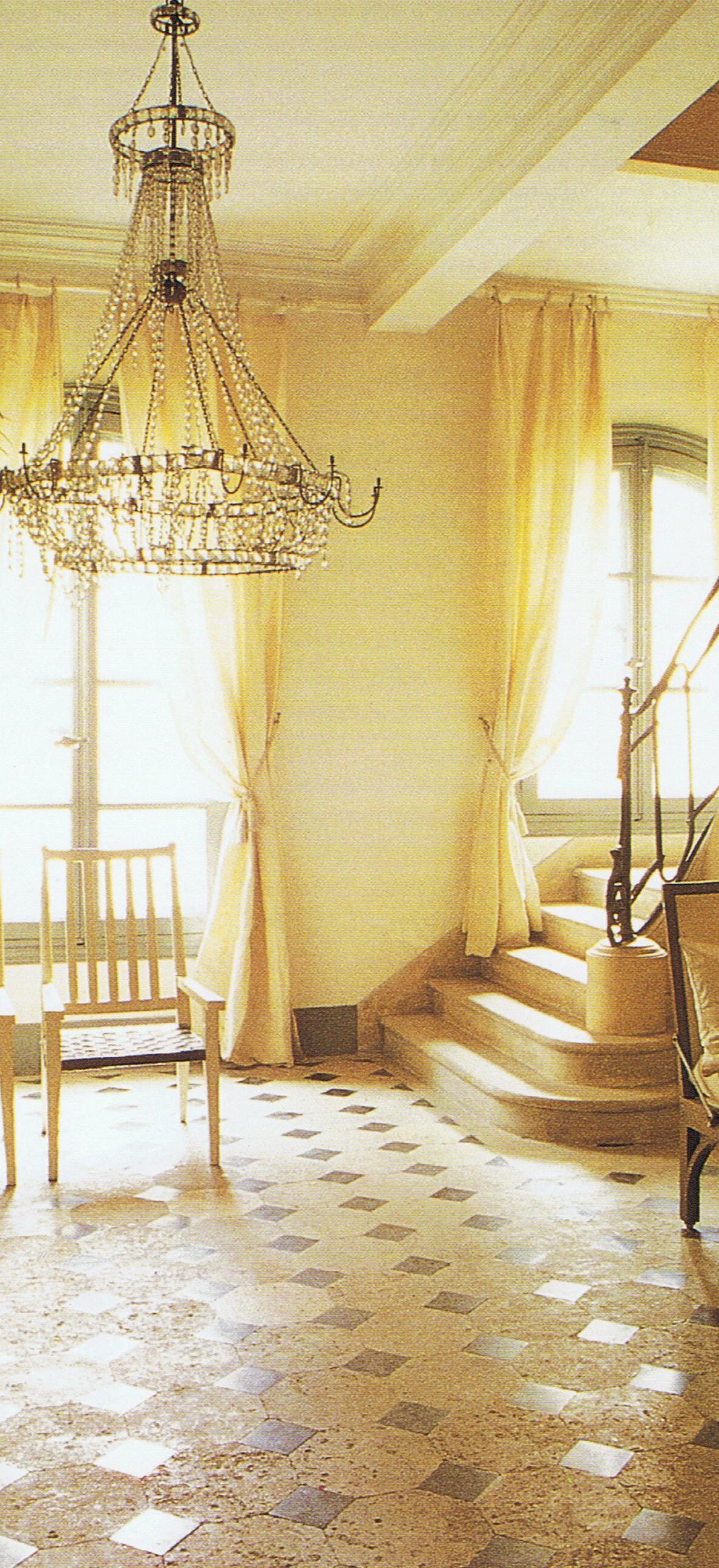 Paris Interiors Isabelle Adjani