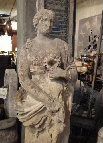 Roman statue of young woman World Relics