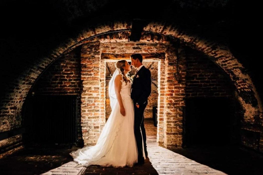 romantisch kasteel bruiloft