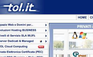 Pareri utenti e recensione: TOL.IT Multidominio