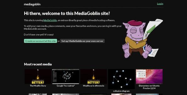 MediaGoblin - Cool FOSS Software of 2013 - nixCraft