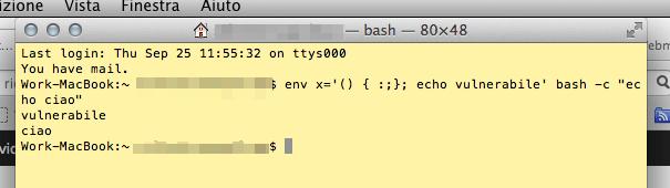 Cos'è ShellShock, il bug della shell BASH che apre una falla su Linux e Mac (Guide)